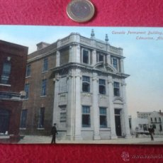 Postales: ANTIGUA POSTAL CANADA PERMANENT BUILDING EDMONTON, ALTA NO ESCRITA N/C S.B. 5363 PRIVATE POST CARD. Lote 40985217