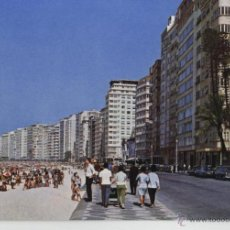 Postales: POSTAL BRASIL, RIO DE JANEIRO , PLAYA DE COPACABANA. Lote 41009810