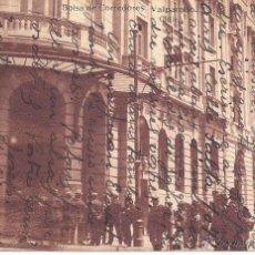 Postales: PS0527 VALPARAÍSO 'BOLSA DE CORREDORES'. ED. ALLAN D. PHILLIP. CIRCULADA ENTRE CHILE Y ESPAÑA 1918. Lote 41038858