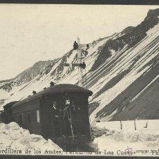 Postales: ARGENTINA -CORDILLERA DE LOS ANDES - PARAMILLO LAS CUEVAS- (19792). Lote 41859602