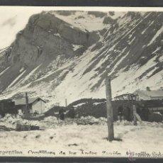 Postales: ARGENTINA -CORDILLERA DE LOS ANDES - ZANION AMARILLO - (19795). Lote 41859766