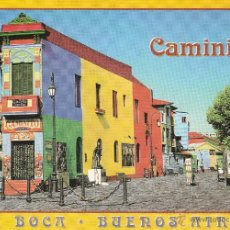 Postales: Nº 12361 CAMINITO LA BOCA BUENOS AIRES ARGENTINA. Lote 42088333