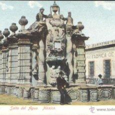 Postales: MEXICO. SALTO DEL AGUA. POSTAL COLOR, SIN CIRCULAR, C. 1910. Lote 42483505