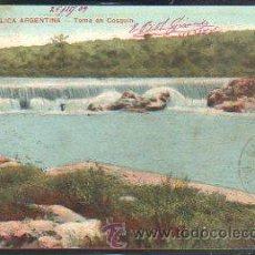 Postales: TARJETA POSTAL REPUBLICA ARGENTINA - TOMA EN COSQUIN. DIRIGIDA DESDE ARGENTINA A MATANZAS, CUBA . Lote 42517057