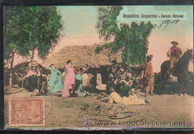 TARJETA POSTAL REPUBLICA ARGENTINA - PERICON NATIONAL. DIRIGIDA DESDE ARGENTINA A MATANZAS, CUBA (Postales - Postales Extranjero - América)