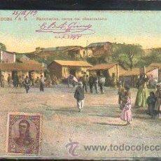 Postales: TARJETA POSTAL CORDOBA, ARGENTINA - RANCHERIAS. DIRIGIDA DESDE ARGENTINA A MATANZAS, CUBA. Lote 54065760