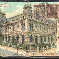 Postales: TARJETA POSTAL DE BUENOS AIRES - PALACIO DE AGUAS CORRIENTES. DIRIGIDA DE ARGENTINA A MATANZAS, CUBA. Lote 58351567