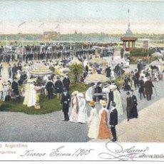 Postales: PS4381 BUENOS AIRES 'EN EL HIPÓDROMO ARGENTINO'. PITA Y CATALANO. 1905. Lote 42771490