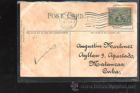 Postales: TARJETA POSTAL DE SEATTLE - KING COUNTY COURT HOUSE. CIRCULADA A MATANZAS, CUBA - Foto 2 - 42824364