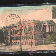 Postales: TARJETA POSTAL DE FOREST COUNTY COURT HOUSE. 3310. CIRCULADA A MATANZAS, CUBA. Lote 42824543