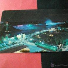 Postales: POSTAL DE CANADA NIAGARA ILUMINADAS LA DE LAS FOTOS MIRA MAS POSTALES EN MI TIENDA. Lote 42987469