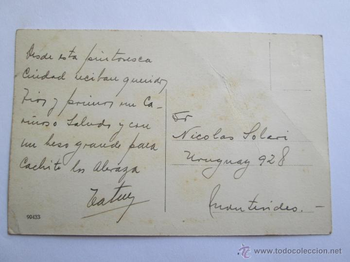 Postales: SALTA CALLE CASEROS ARGENTINA CIRCA 1915 - Foto 2 - 43017835