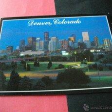 Postales: DENVER COLORADO LA DE LAS FOTOS CON SELLOS . Lote 43176714