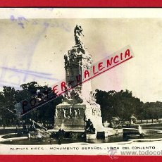 Postales: POSTAL BUENOS AIRES, ARGENTINA, MONUMENTO ESPAÑOL, VISTA DEL CONJUNTO, P93740. Lote 43201967