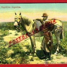 Postales: POSTAL BUENOS AIRES, ARGENTINA, UN GAUCHO, P93752. Lote 43202281