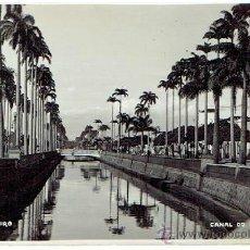 Postales: POSTAL RIO DE JANEIRO , CANAL DO MANGUE . Lote 43351937