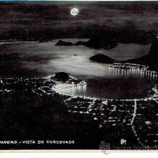 Postales: POSTAL, RIO DE JANEIRO, VISTA DO CORCOVADO . Lote 43351972