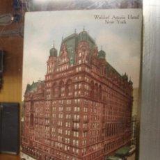 Postkarten - NEW YORK - WALDORF ASTORIA HOTEL - 43788423
