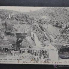 Postales: ANTIGUA POSTAL DE SAN LUIS POTOSI. MEXICO. LA PRESA. CIRCULADA. Lote 43800023