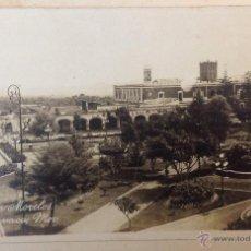 Postales: POSTAL FOTOGRÁFICA JARDÍN DE MORELOS. CUERNAVACA. 1935.. Lote 43839859