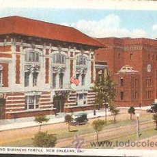 Postales: POSTAL * NEW ORLEANS , ATHENAEUM AND SHRINERS TEMPLE *. Lote 44123441