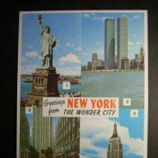 Postales: 8548 ESTADOS UNIDOS UNITED STATES OF AMERICA NUEVA YORK NEW YORK POSTCARD AÑOS 90 TENGO MAS POSTALES. Lote 110186923