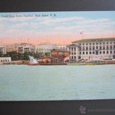 Postales: POSTAL PUERTO RICO. SAN JUAN CITY FROM HARBOR. SAN JUAN P.R.. Lote 44445411