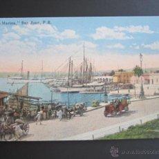 Postales: POSTAL PUERTO RICO. LA MARINA. SAN JUAN P.R.. Lote 44445443