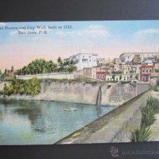 Postales: POSTAL PUERTO RICO. CASA BLANCA AND CITY WALL. SAN JUAN P.R.. Lote 44445457