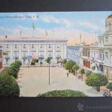 Postales: POSTAL PUERTO RICO. PLAZA PRINCIPAL. SAN JUAN P.R.. Lote 44445505