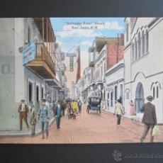 Postales: POSTAL PUERTO RICO. SALVADOR BRAU STREET. SAN JUAN P.R.. Lote 44445557