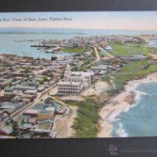 Postales: POSTAL PUERTO RICO. BIRD´S EYE VIEW OF SAN JUAN. PUERTO RICO. . Lote 44445585