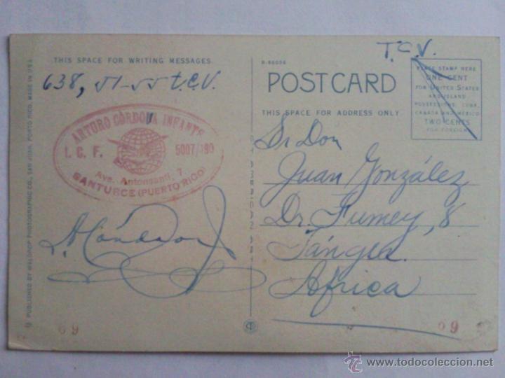 Postales: POSTAL PUERTO RICO, EDIFICIO FEDERAL SAN JUAN, AÑO 30 - Foto 2 - 44461309