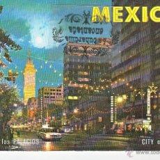 Cartes Postales: POSTAL - MEXICO - MEXICO DF AVENIDA JUAREZ - NO CIRCULADA. Lote 44869794