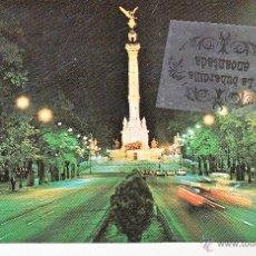 Postales: POSTAL - MEXICO - MEXICO DF LA COLUMNA DE LA INDEPENDENCIA EL ANGEL - NO CIRCULADA. Lote 44869919