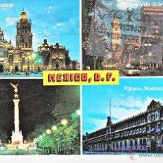 Postales: POSTAL - MEXICO - MEXICO DF VARIAS VISTAS - NO CIRCULADA. Lote 44869960