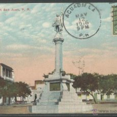 Postales: PUERTO RICO - SAN JUAN PLAZA COLON - P1417. Lote 45089647