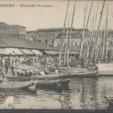 Postales: RIO DE JANEIRO MERCADO DO PEIXE - P1441. Lote 45089739