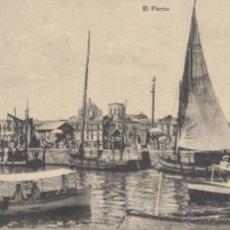 Postales: VERACRUZ (MÉXICO). EL PUERTO. POSTAL BLANCO Y NEGRO, IMPRESA C. 1914. . Lote 65806822