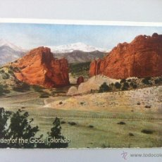 Postales: ANTIGUA POSTAL -GARDEN OF THE GODS COLORADO - SIN CIRCULAR- BUEN ESTADO -. Lote 45333809