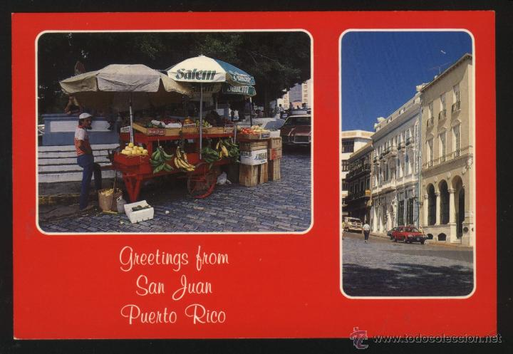 Postales: A-0327- PUERTO RICO. GREETINGS FROM SAN JUAN. - Foto 1 - 45376094