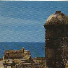 Postales: POSTAL CARTAGENA ( COLOMBIA) . FUERTE LA TENAZA MIRADOR. Lote 45520330