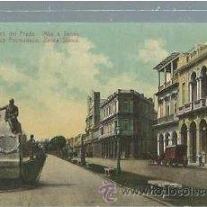 Postales: TARJETA POSTAL HABANA, PASEO DEL PRADO, ED. JORDI. Lote 45582025