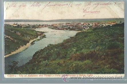 TARJETA POSTAL MATANZAS CUBA, VISTAS DE MATANZAS Y BAHÍA, CUBA (Postales - Postales Extranjero - América)