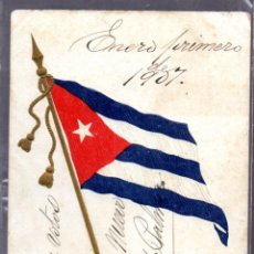 Postales: TARJETA POSTAL CUBA. FIRMADA POR TOMAS ESTRADA PALMA, PRIMER PRESIDENTE DE LA REPUBLICA DE CUBA. Lote 45773434