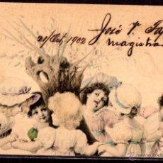 Postales: TARJETA POSTAL CUBA. FIRMADA POR JOSE V. TAPIA. MAGISTRADO. Lote 45787297