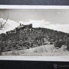 Postales: ANTIGUA FOTO POSTAL DE LA JUNQUERA. GIRONA. CASTILLO DE RECASENS. FOTO MELI. SIN CIRCULAR. Lote 45825639