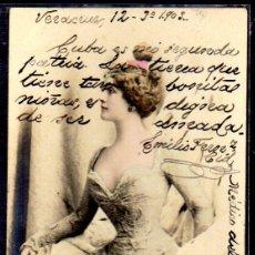 Postales: TARJETA POSTAL CUBA. FIRMADA POR EMILIO F. MEDICODEL VAPOR CORREO CIUDAD DE CADIZ. Lote 45899029