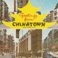 Postales: Nº 14625 POSTAL CHINATOWN NEW YORK CITY ESTADOS UNIDOS. Lote 45910319
