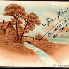Postales: TARJETA POSTAL CUBA. FIRMADA POR DR. FRAN PIÑEIROS. CANCILLER DEL CONSULADO DE VENEZUELA. Lote 45917163